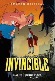 Invencível (1ª Temporada) - Poster / Capa / Cartaz - Oficial 2