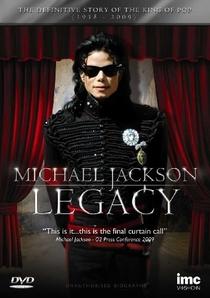 Michael Jackson - O Legado - Poster / Capa / Cartaz - Oficial 1