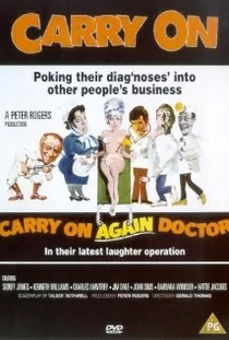 Carry on Again Doctor - Poster / Capa / Cartaz - Oficial 1