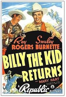 A Volta de Billy the Kid - Poster / Capa / Cartaz - Oficial 1
