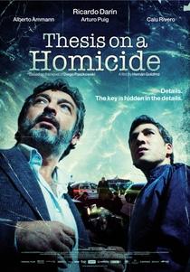 Tese Sobre um Homicídio - Poster / Capa / Cartaz - Oficial 3