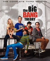 Big Bang: A Teoria (3ª Temporada) - Poster / Capa / Cartaz - Oficial 1