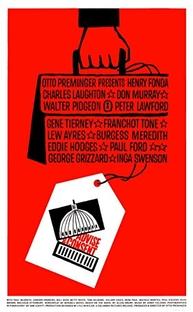 Tempestade Sobre Washington - Poster / Capa / Cartaz - Oficial 4