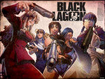 Black Lagoon - Poster / Capa / Cartaz - Oficial 2