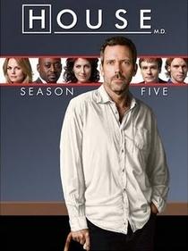 Dr. House (5ª Temporada) - Poster / Capa / Cartaz - Oficial 1