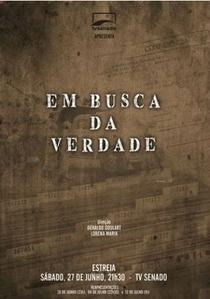 Em Busca da Verdade - Poster / Capa / Cartaz - Oficial 1