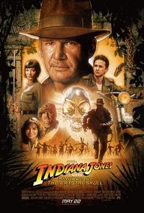 Indiana Jones e o Reino da Caveira de Cristal - Poster / Capa / Cartaz - Oficial 1