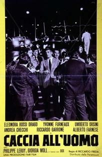 Caccia all'uomo - Poster / Capa / Cartaz - Oficial 1