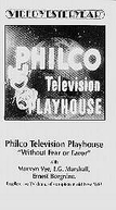 The Philco Television Playhouse: (1ª Temporada) (The Philco Television Playhouse: (Season 1))