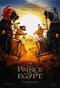 O Príncipe do Egito - Poster / Capa / Cartaz - Oficial 3