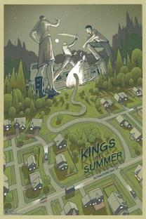 Os Reis do Verão - Poster / Capa / Cartaz - Oficial 7
