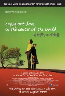 Sekai no Chuushin de, Ai wo Sakebu - Poster / Capa / Cartaz - Oficial 2