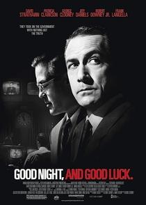 Boa Noite e Boa Sorte - Poster / Capa / Cartaz - Oficial 4