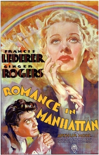 Romance in Manhattan - Poster / Capa / Cartaz - Oficial 1
