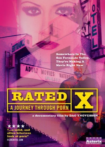 Rated X: A Journey Through Porn - Poster / Capa / Cartaz - Oficial 1