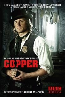 Copper (1ª Temporada) - Poster / Capa / Cartaz - Oficial 1