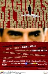 Páginas del diario de Mauricio - Poster / Capa / Cartaz - Oficial 1