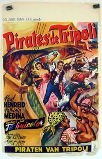 Corsários de Trípoli - Poster / Capa / Cartaz - Oficial 1