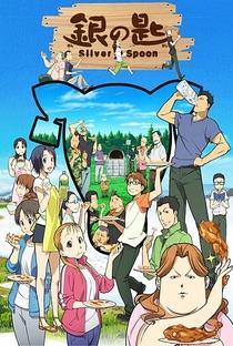 Gin no Saji (2ª Temporada) - Poster / Capa / Cartaz - Oficial 1