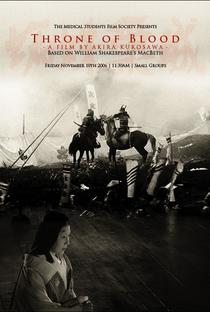 Trono Manchado de Sangue - Poster / Capa / Cartaz - Oficial 5