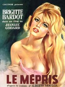 O Desprezo - Poster / Capa / Cartaz - Oficial 2
