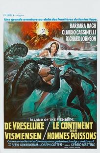 A Ilha dos Homens-Peixe - Poster / Capa / Cartaz - Oficial 7