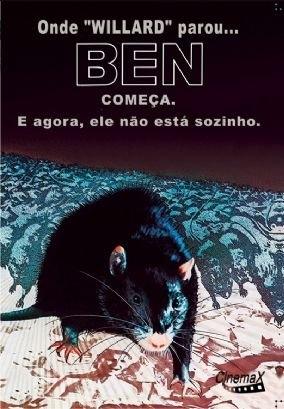 Resultado de imagem para Ben, O Rato Assassino – 1972