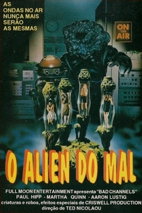 O Alien do Mal - Poster / Capa / Cartaz - Oficial 1