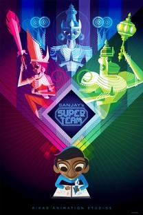 Os Heróis de Sanjay - Poster / Capa / Cartaz - Oficial 1
