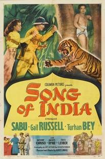 Canção da Índia - Poster / Capa / Cartaz - Oficial 1