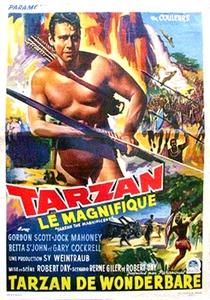 Tarzan - O Magnífico - Poster / Capa / Cartaz - Oficial 2