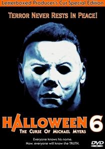 Halloween 6: A Última Vingança - Poster / Capa / Cartaz - Oficial 4