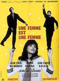Uma Mulher é Uma Mulher - Poster / Capa / Cartaz - Oficial 1