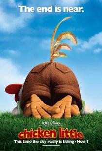 O Galinho Chicken Little - Poster / Capa / Cartaz - Oficial 3