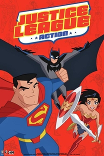 Justice League Action (1ª Temporada) - Poster / Capa / Cartaz - Oficial 2