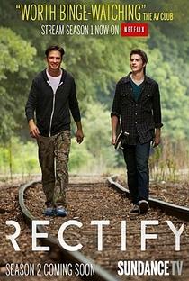 Rectify (2ª Temporada) - Poster / Capa / Cartaz - Oficial 3
