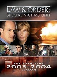 Law & Order: Special Victims Unit (5ª Temporada) - Poster / Capa / Cartaz - Oficial 1