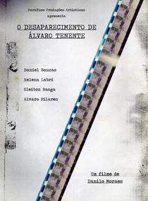 O desaparecimento de Álvaro Tenente - Poster / Capa / Cartaz - Oficial 1