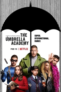 The Umbrella Academy (1ª Temporada) - Poster / Capa / Cartaz - Oficial 2
