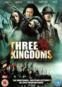 Três Guerreiros - A Ressurreição Do Dragão - Poster / Capa / Cartaz - Oficial 3