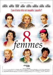 8 Mulheres - Poster / Capa / Cartaz - Oficial 3