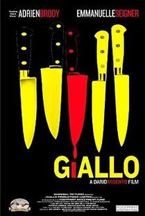 Giallo - Reféns do Medo - Poster / Capa / Cartaz - Oficial 1