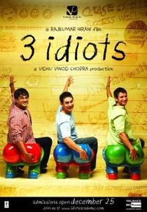 3 Idiotas - Poster / Capa / Cartaz - Oficial 3