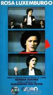 Rosa Luxemburgo - Poster / Capa / Cartaz - Oficial 2