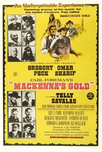 O Ouro de Mackenna - Poster / Capa / Cartaz - Oficial 5