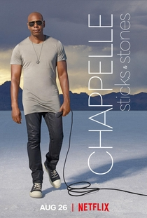 Dave Chappelle: Sticks and Stones - Poster / Capa / Cartaz - Oficial 1
