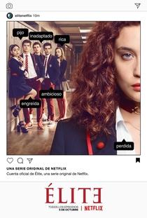 Elite (1ª Temporada) - Poster / Capa / Cartaz - Oficial 2