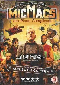 MicMacs - Um Plano Complicado - Poster / Capa / Cartaz - Oficial 2