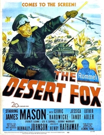 Raposa do Deserto - Poster / Capa / Cartaz - Oficial 3
