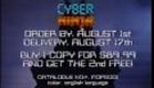 CYBER NINJA (1988)  Fox Lorber Mondo Pop Trailer